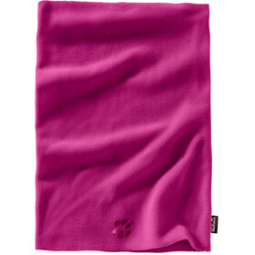 Jack Wolfskin Real Stuff Loop Scarf Kids fuchsia